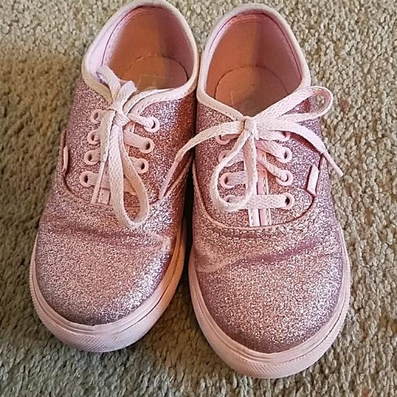 Vans Shoes   Vans Pink Glitter Toddler